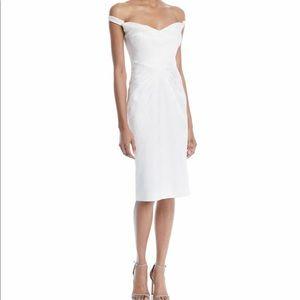 Zac Posen Off-the-Shoulder Cocktail Dress